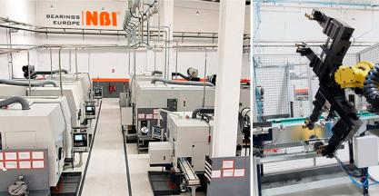 NBI completa con éxito el desarrollo de su planta de Oquendo con la fabricación de piezas de revolución con rectificado de precisión