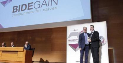 "BIDEGAIN obtains one of the ""best Basque company"" awards"