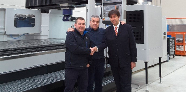 MECANIZADOS IGAL y COMHER install the first Neway gantry machining center in Spain