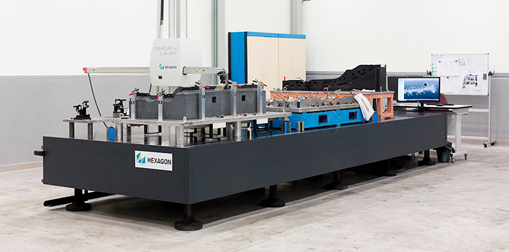 ORAN increases its measurement capacity adding a Hexagon Mercury HA-C1 to its metrology hall