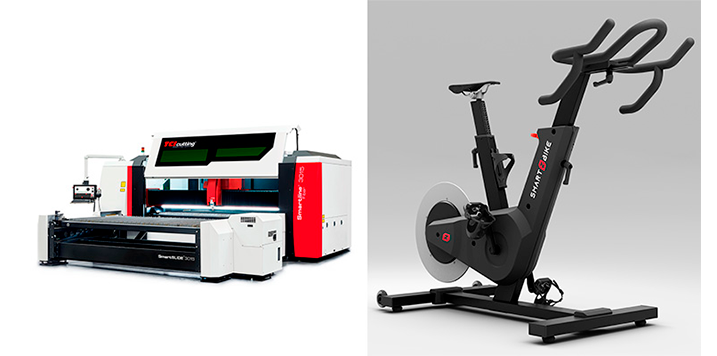 MIPESA, TCI Cutting y Versa Design colaboran en el caso de éxito de la bicicleta inteligente para entrenamiento indoor Zycle Smart Zbike