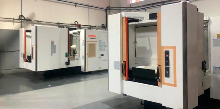 Intermaher entrega dos centros de mecanizado Mazak a NORCLAMP